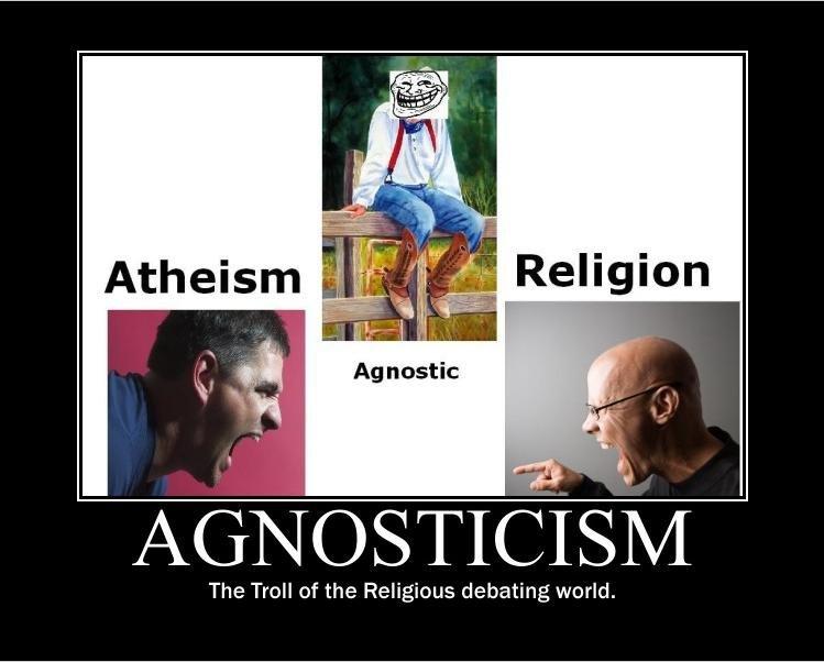 spiritual agnosticism Agnostisisme, pada kenyataannya, tidak kredo, tetapi metode, esensi yang terletak pada aplikasi ketat satu prinsip  positif prinsip dapat dinyatakan: dalam hal.
